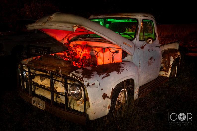 Wichita Falls Night w 3 795x530 Light Painting in Wichita Falls, Texas
